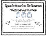 3 Spook-tacular Halloween Math Activities