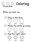 3-Star Coloring Poster