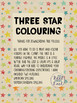 3 Star Colouring - British and American spelling