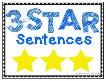 3 Star Sentences