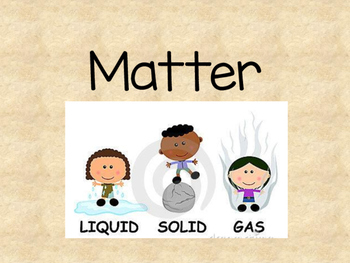 3 States of Matter - Science