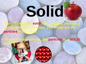 3 States of Matter! Solids, Liquids, and Gases