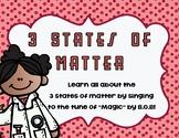 3 States of Matter Song Lyrics (Solid, Liquid, Gas)