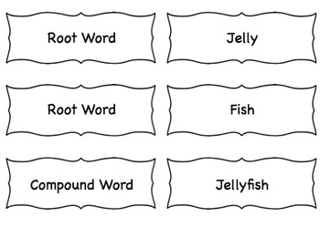 Compound Word Exercises in 3 Steps