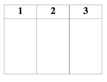 3-Step Picture Direction Task Card
