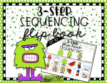 3-Step Sequencing Flip Book {Bundle}