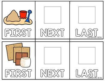 3-Step Sequencing Flip Book {Set 3}