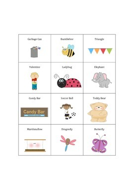 3-Syllable (Articulation) Word Games