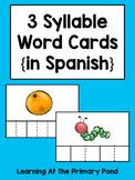 Spanish Syllables Practice with 3 Syllable Words {Palabras de 3 sílabas}