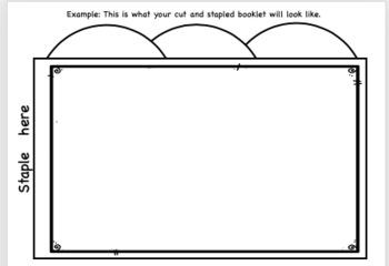 3 Tab Book Template: Editable!