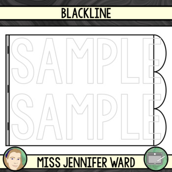 3 Tabs : Book Clipart Sets