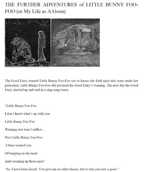 The FurtherAdventures of Little Bunny Foo-Foo