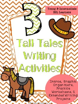 3 Tall Tales Writing Activities and Worksheets