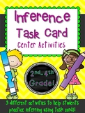Inference!  3 Task Card Inferring Games Common Core Literacy Centers