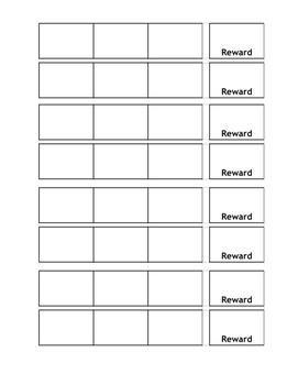 3 Tasks Reward Strip