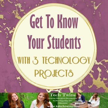 3 Technology Projects To Get To Know Your Students (Youtube tutorials included!)