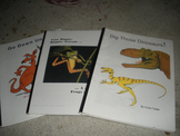 Australia, Frogs and Toads, Dinosaurs- 3 Thematic Units