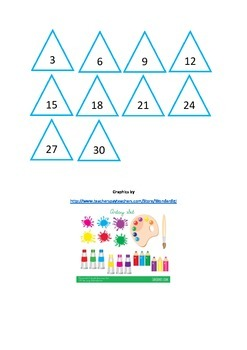 3 Times Table Activities