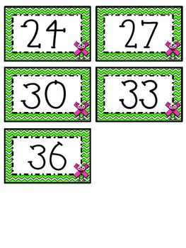 """""""3"""" Times Table Flash Cards"""