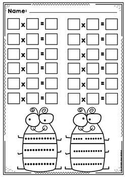 3 Times Tables {Multiplication Activity Math Center}