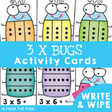 3 Times Tables Multiplication Activities