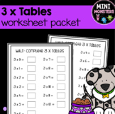 3 Times Tables