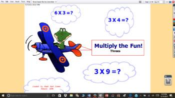 3 Times the Fun Multiplication Interactive Activities for ActivStudio