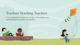 3 Tips For Healthy Teaching
