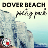 """3 Tools for Teaching """"Dover Beach"""" by Matthew Arnold / Pri"""