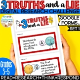 3 Truths and a Lie | Digital Research Challenge for Google