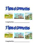 3 Types of Communities Booklet