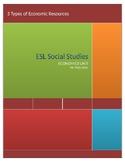 3 Types of Economic Resources- ESL