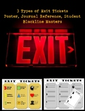 3 Types of Exit Tickets