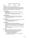 3 Types of Literary Conflict Lesson Plan