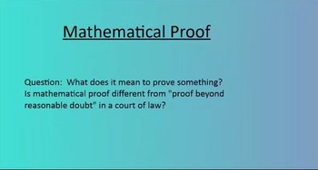 3 Types of Mathematical Proof