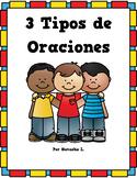 3 Types of Sentences Mini Unit (Spanish Version)
