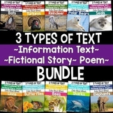 Types of Text: Year Long BUNDLE