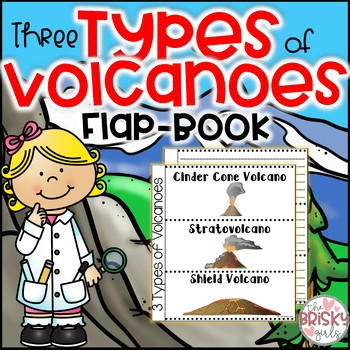 3 Types of Volcanoes Flap-Book