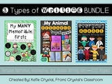 3 Types of Writing BUNDLE: Personal Narrative, Informative, & Opinion Units