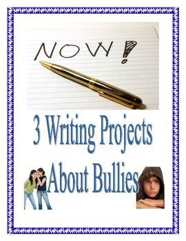 3 Types of Writing in Common Core about Bullying
