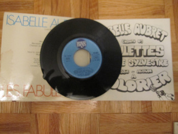 3 VINTAGE ISABELLE AUBRET CHILDRENS FRENCH SONGS Chansonnettes records INCL SHIP