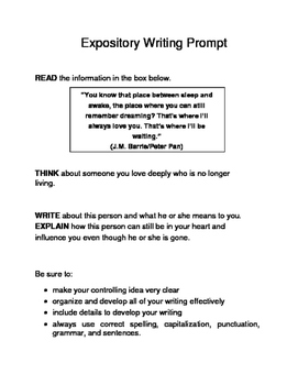 3 Valentine-Themed Expository Prompts Children's Books Set B 6th 7th Grades