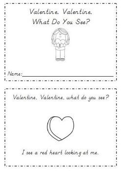3 Valentine's Day Emergent Readers