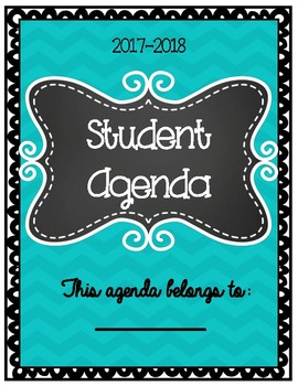 3 Versions of a Student Agenda