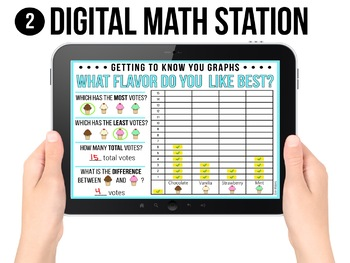 3-Way Back to School Graphs {Digital, Whiteboard, & Printable}