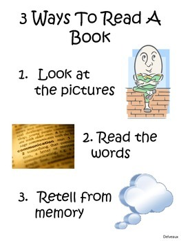 3 Ways To Read A Book Poster Freebie
