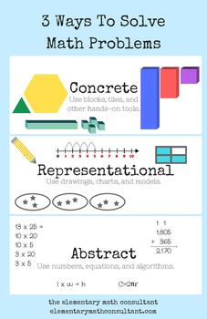 3 Ways To Solve a Math Problem