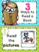 3 Ways to Read a Book Anchor Charts