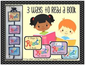 3 Ways to Read a Book FREEBIE