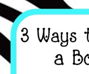 3 Ways to Read a Book Poster
